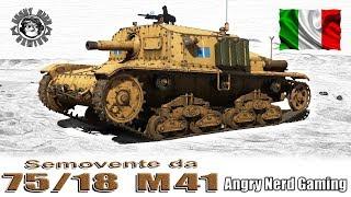 War Thunder: Semovente da 75/18 M41, Italian, Tier-2, Tank Destroyer
