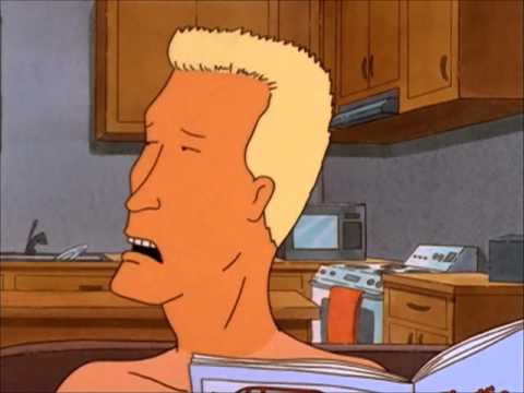 Boomhauer - talks normal
