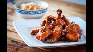 Sticky Fish Sauce Chicken Wings - Cánh gà chiên mắm