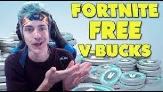 How to earn free V-bucks for Fortnite