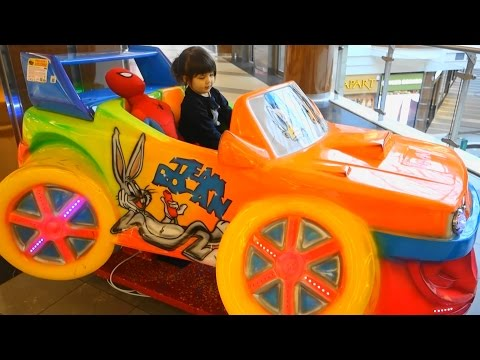kiddy car for kids -  Drive the car with Spiderman