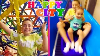 VLOG - FUN INDOOR à HAPPY CITY ! - Parc d'attraction couvert - 1/2