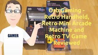 Thumbs Up/Orb Gaming - Retro Handheld, Retro Mini Arcade Machine and Retro TV Game - Reviewed