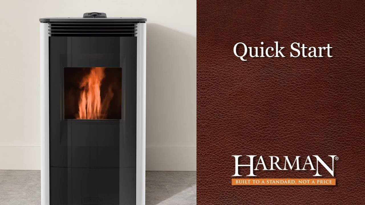 Harman Allure50 Pellet Stove Quick Start Video