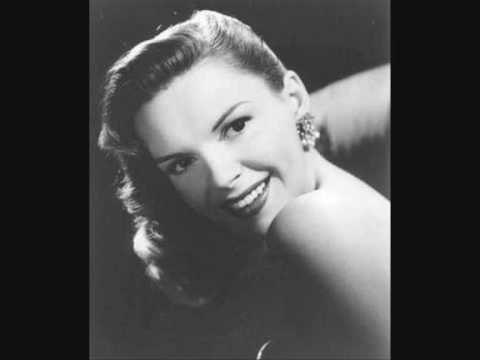 JUDY GARLAND sings AMONG MY SOUVENIRS , 1957
