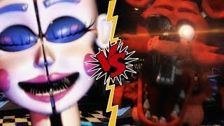 FOXY VS BALLORA - La Liga de FNAF | FIVE NIGHTS AT FREDDY