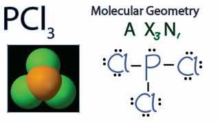 PCl3 Molecular Geometry / Shape and Bond Angles