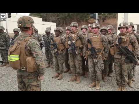 Military | Watch These Marines Sing: U.S. Marines & Republic of Korea Marines
