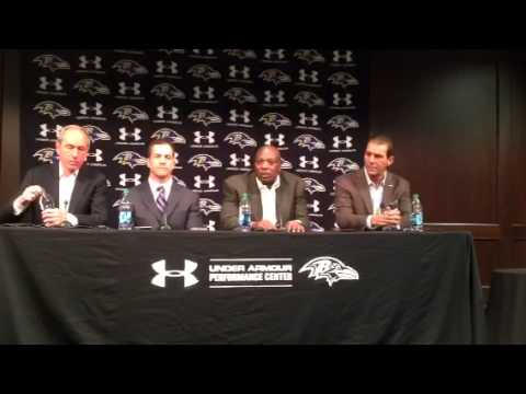Ozzie Newsome on Flacco contract
