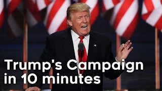 Trump's Entire Campaign in 10 Minutes!
