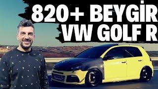 820+ Beygir Gücündeki VW Golf R