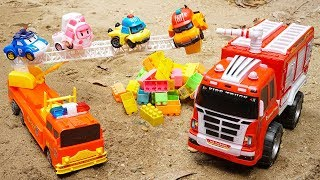 Police Car Ambulance Fire Truck Rescues Robocar Poli Car Toys | Street Vehicles for Children