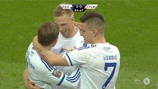 Highlights: FCK 5-3 FC Midtjylland