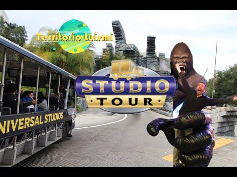 La MEJOR atracción de UNIVERSAL STUDIOS HOLLYWOOD 🎬 STUDIO TOUR 🎥