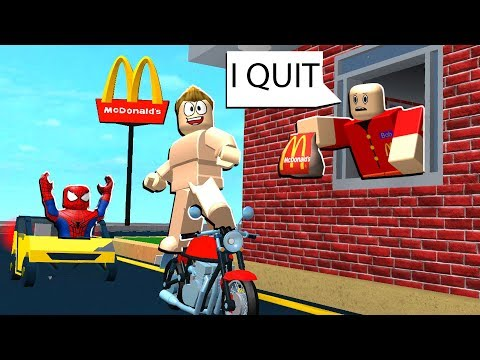 MCDONALDS DRIVE THRU PRANK IN ROBLOX!