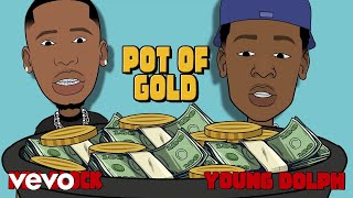 Young Dolph, Key Glock - Pot Of Gold (Visualizer)