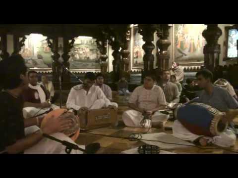 NY Eve Bhajan - Anish - Hare Krishna - 1/21