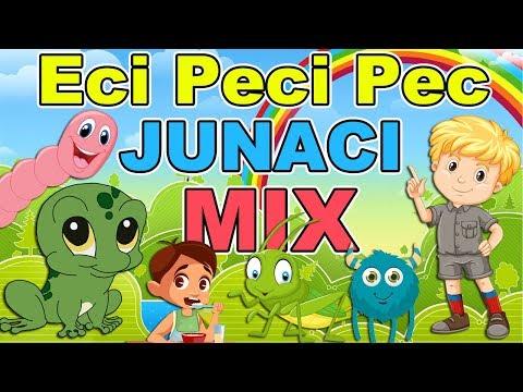 Eci Peci Pec junaci MIX - Dečije pesmice   MIX pesmica za decu   Autorske dečije pesme   Kompilacija