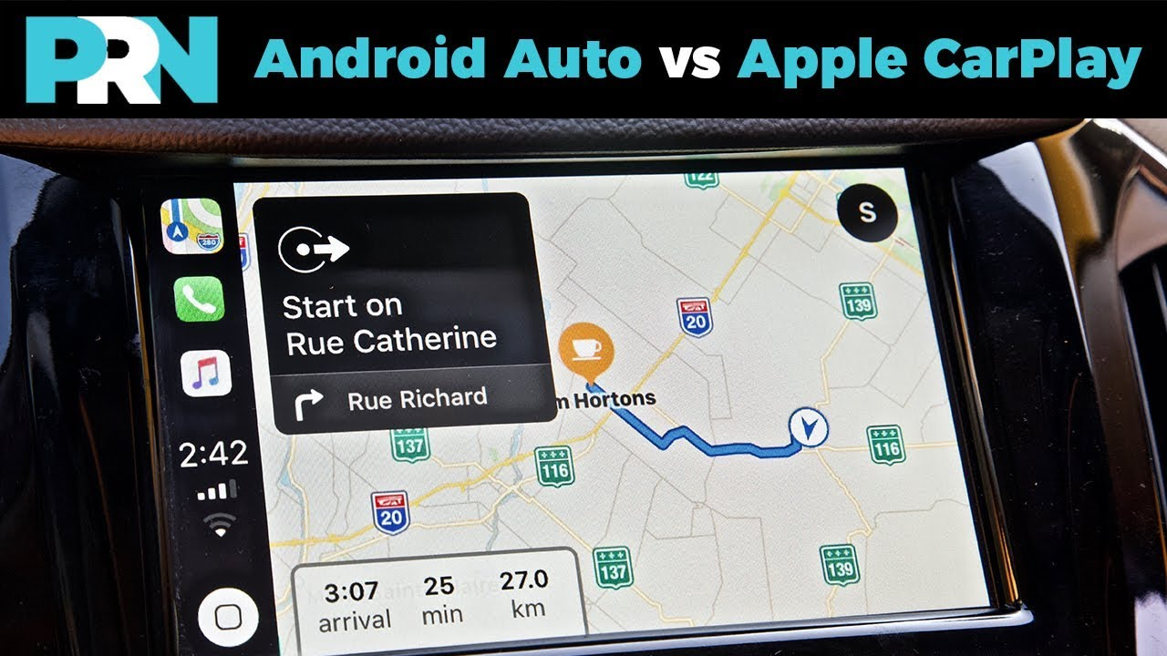 Android Auto Vs Apple Carplay Testdrive Showdown