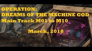 War Commander Dreams of the Machine God March 2018 Main Track M01 to M10