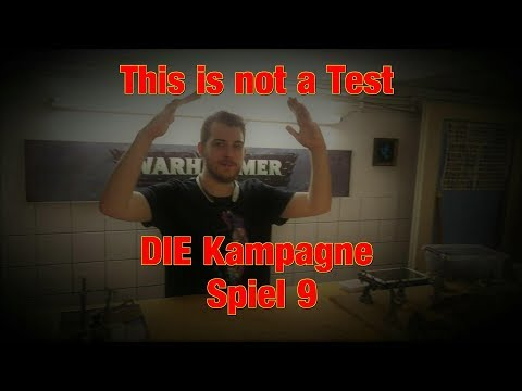 Bunkervideos - This is not a Test: DIE Kampagne Spiel 9 (Pfeife)