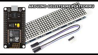 ESP8266 Dot Matrix Display