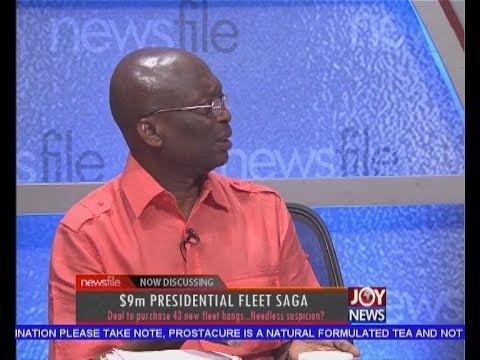 $9m Presidential Fleet Saga - Newsfile on JoyNews (3-6-17)