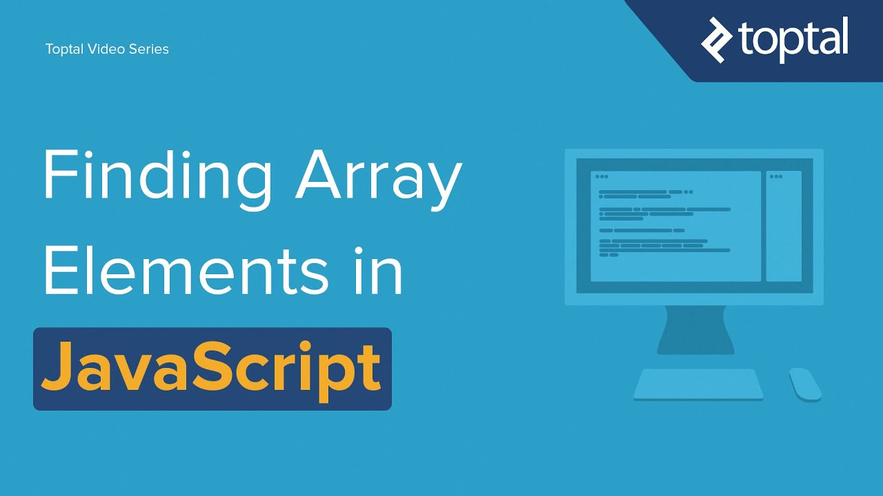 Javascript video tutorial finding items in an array youtube javascript video tutorial finding items in an array baditri Gallery