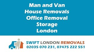 Swift London Removal Company www.swift-london-removals.co.uk(Welcome to SWIFT LONDON REMOVALS If necessary, our specialists will survey the place you're moving from in advance, to assess the amount of work ..., 2015-05-27T07:48:15.000Z)