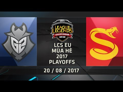 [20.08.2017] G2 vs SPY [LCS EU Hè 2017][Playoffs - Ván 1]