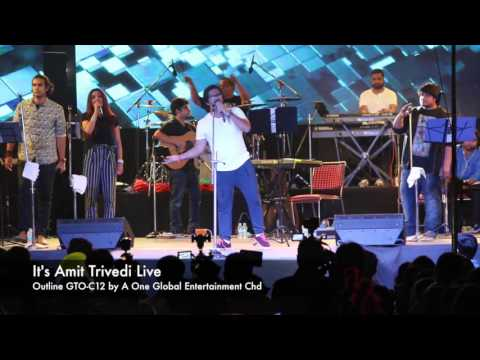 It's Amit Trivedi Live by A One Global Entertainment Chd