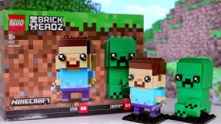 LEGO® BrickHeadz - Стив и Крипер