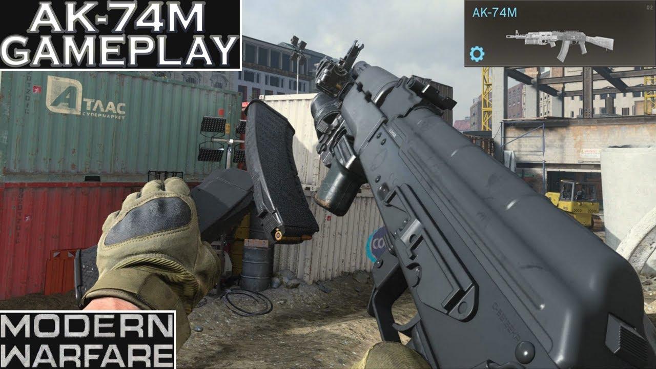 Download Modern Warfare AK-74M (AK-47) Gameplay