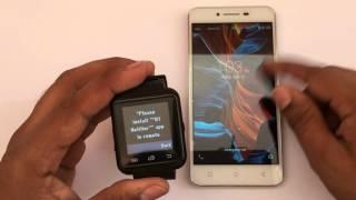 Bingo U8 Smartwatch Techno Unboxing
