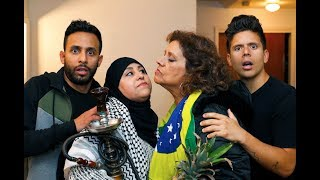 Download Anwar Jibawi Comedy - Foreign Mothers | Anwar Jibawi & Rudy Mancuso