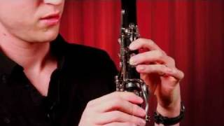 How to Hold the Clarinet