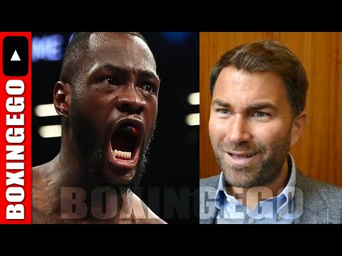 EDDIE HEARN GIVES REAL REASON JOSHUA V WILDER MAY NOT HAPPEN NEXT AND IT'S...