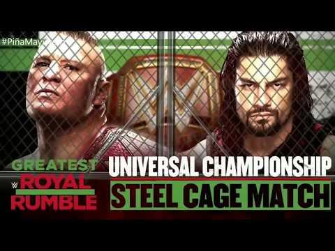 WWE Greatest Royal Rumble Match Card Full.