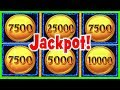 I RAISED MY BET to MAX and HIT A JACKPOT HANDPAY ...