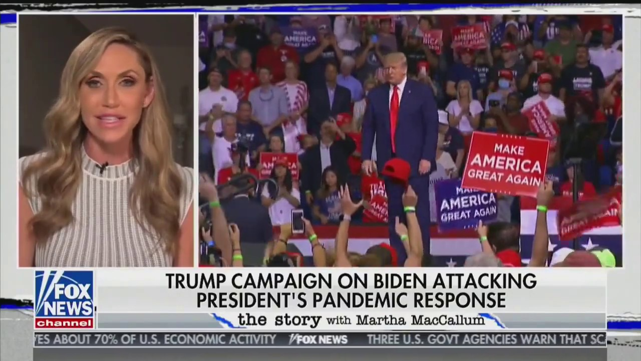 Senior Advisor Lara Trump touts the success of Team Trump Online!