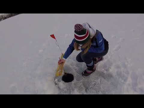 Ice Fishing North Long Lake Brainerd Minnesota