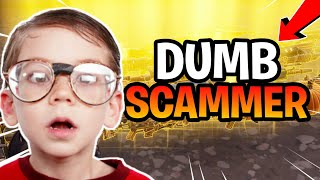Dumb kid Gets Scammed 'ULTRA RAGEMD (Scammer Gets Scammed) Fortnite Save The World