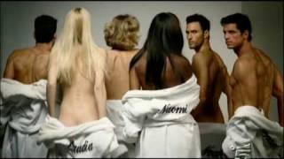 Spot D&G con Naomi Campbell, Eva Herzigova e Claudia Schiffer