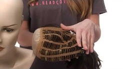 Different Types of Wig Caps - Capless, Monofilament, Lace Front Wig Construction