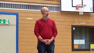 Harald Lesch spricht am RWG Bayreuth