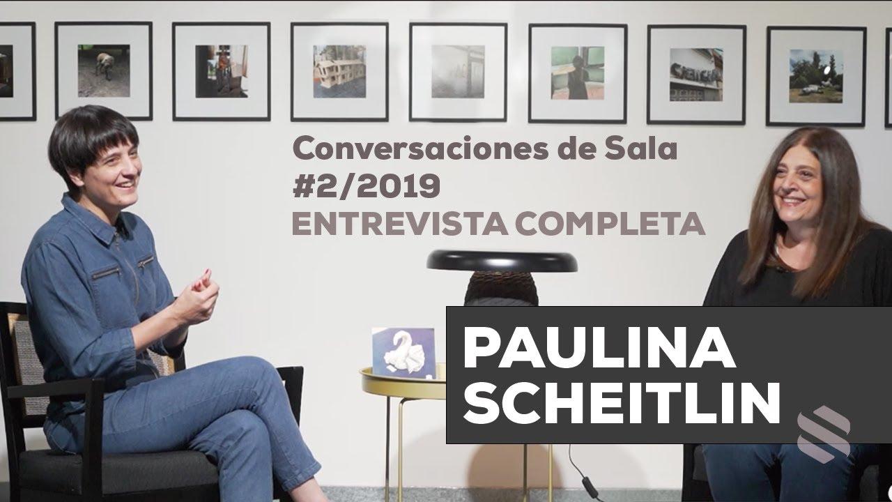 Conversaciones de Sala #2/2021 - Paulina Scheitlin