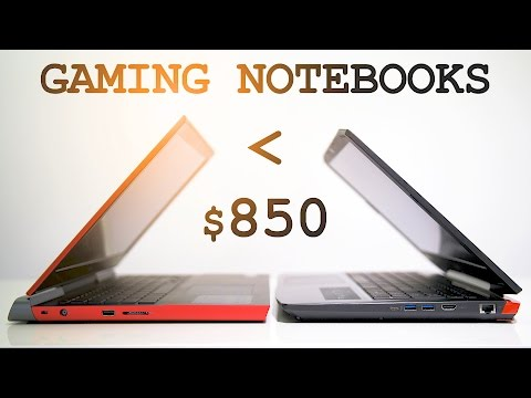 Gaming Notebooks Under $850 | Dell Inspiron 15 vs Acer VX 15