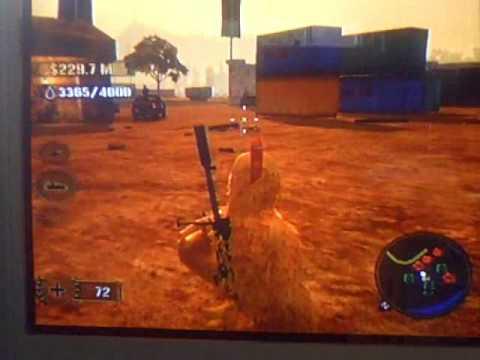 Mercenaries 2: world in flames xbox360 walkthrough and guide.