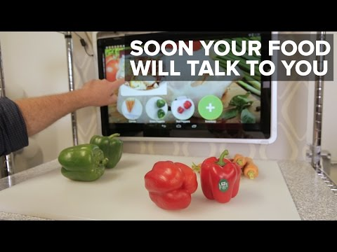 Soon your food will talk to you through your kitchen