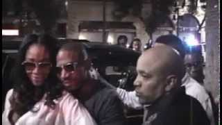 Stevie J and Mimi of Love and Hip Hop Party in Hollywood